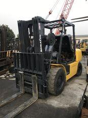 мобильный вилочный погрузчик KOMATSU Komatsu 5 ton FD50T used diesel forklift on sale