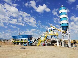 новый бетонный завод PROMAX محطة خلط الخرسانة المدمجة C100-TWN-LINE (100m3 / h)