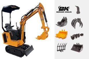 новый мини-экскаватор BERGER KRAUS Mini Excavator BK800BS torsion arm with FULL equipment